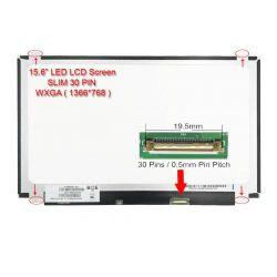 """LED 15.4"""" ( N154C6-L02 ) Tebal"""